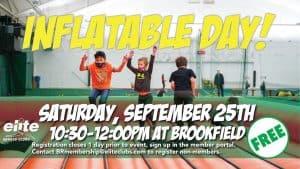 Inflatable Day - Elite Brookfield - September 2021