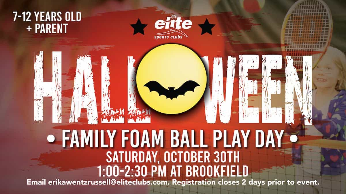 Halloween Family Foam Ball Play Day - Elite Brookfield - October 2021