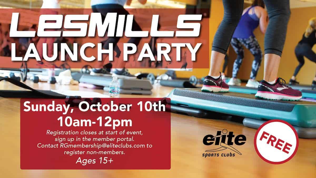 Les Mills Launch Party - Elite River Glen - October 2021