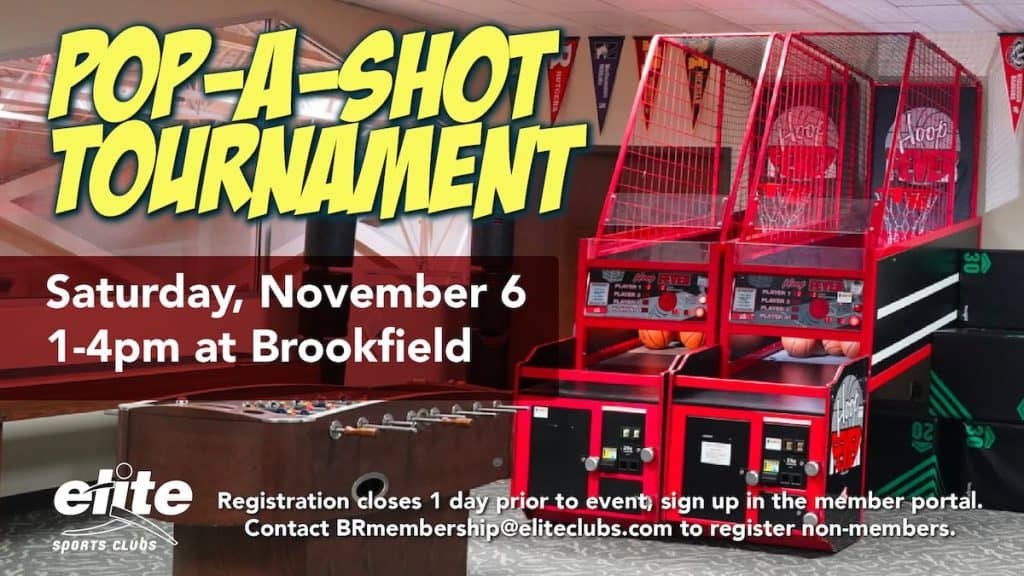 Pop-A-Shot Tournament - Elite Brookfield - November 2021