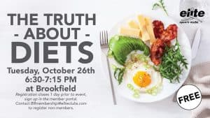The Truth About Diets - Elite Brookfield - October 2021